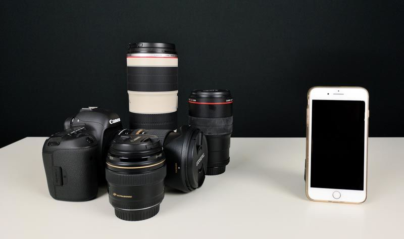 Im Vergleich: Foto vs. Handykamera